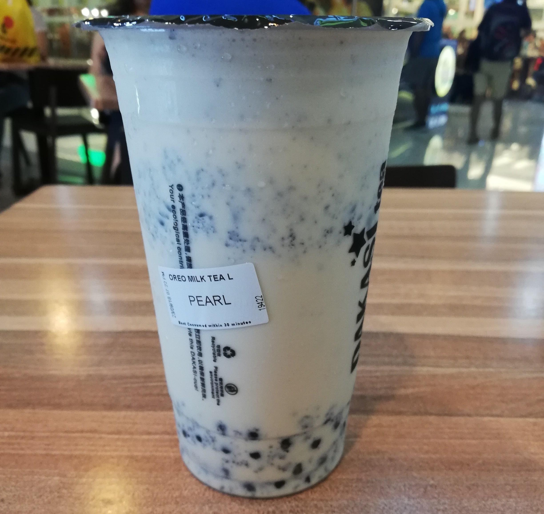 Oreo Milk Tea
