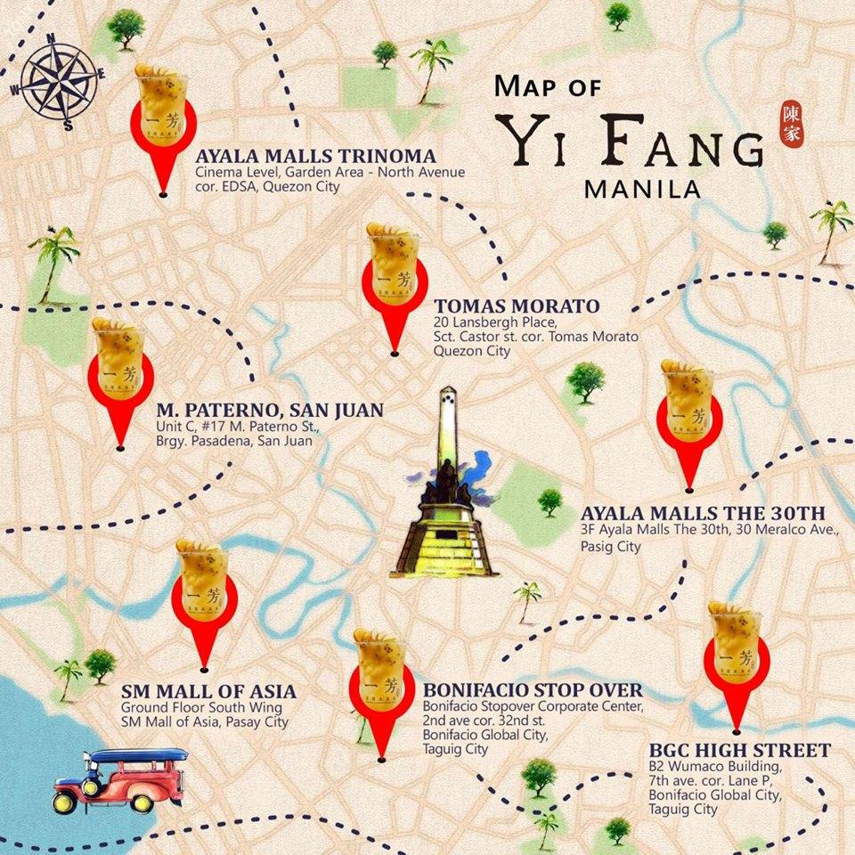 Yi Fang Stores