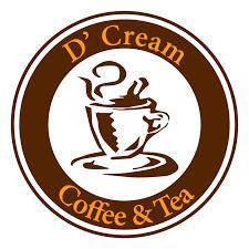D'Cream Coffee & Tea Logo