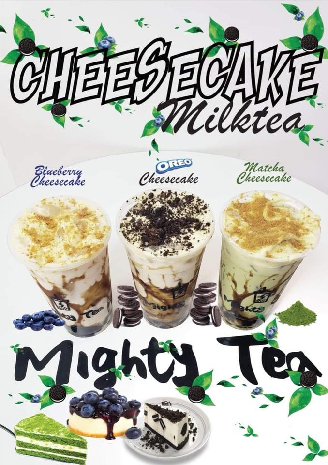 cheesecake milk tea mighty tea