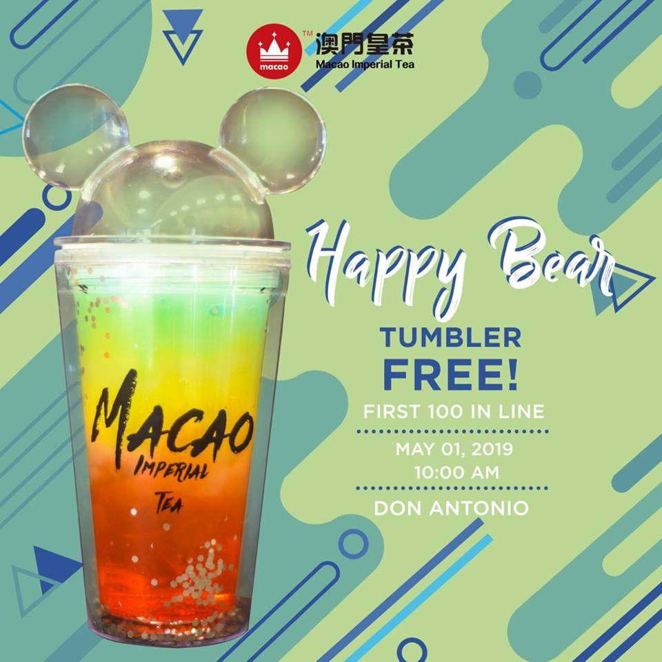 macao imperial tea happy bear tumbler don antonio