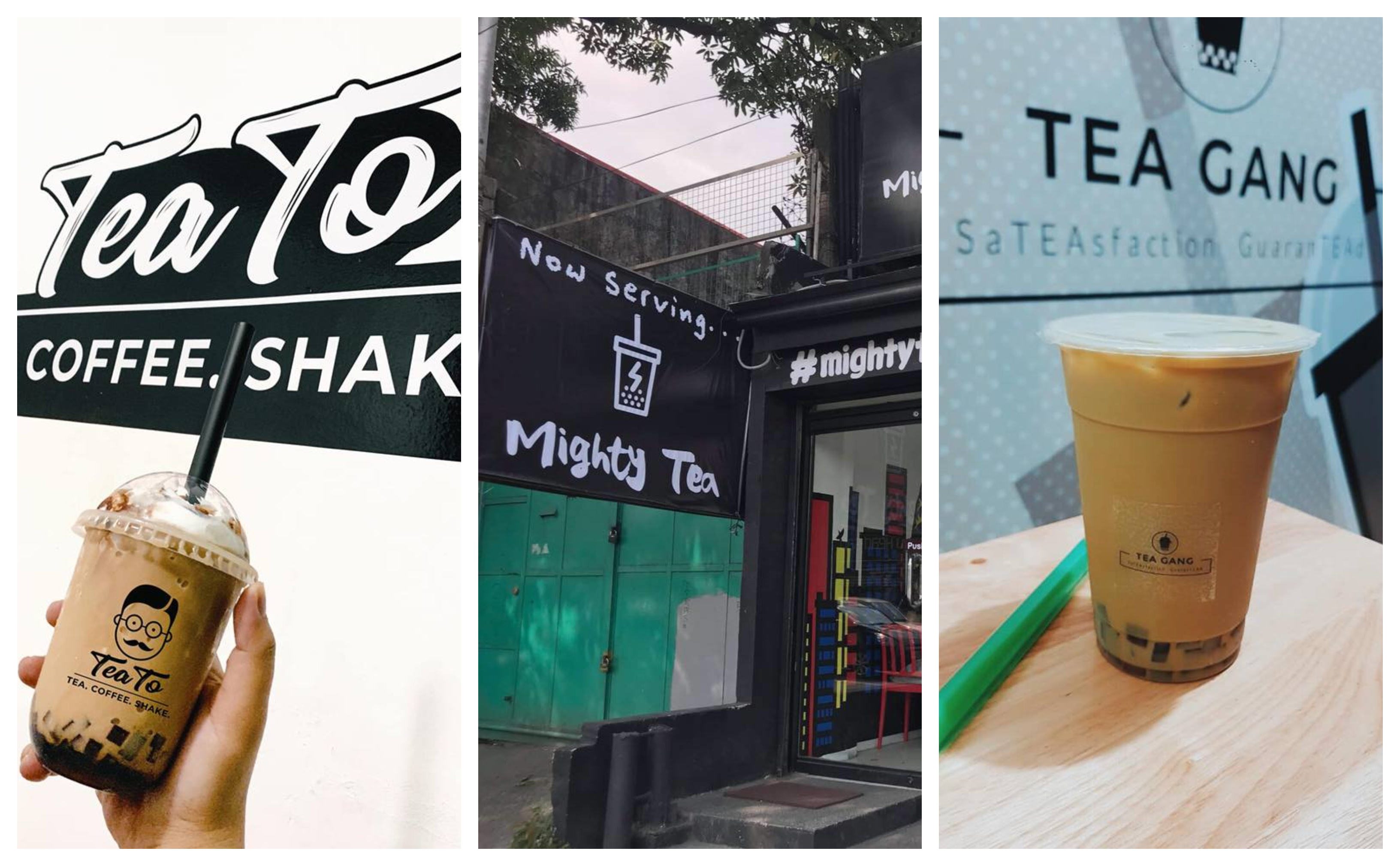 Top 5 Milk Tea Shops with Funny and Witty Names
