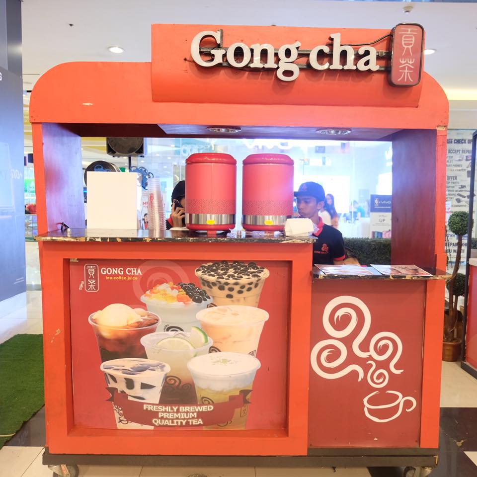 milk tea party at sm north edsa gong cha