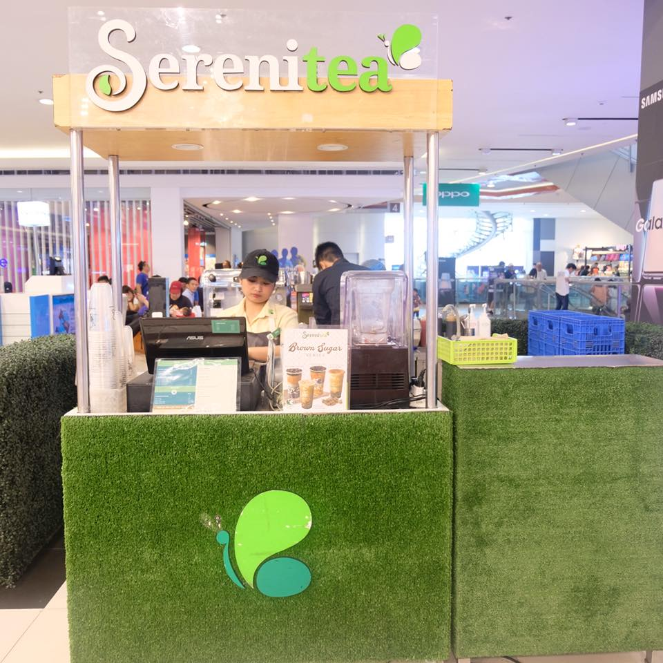 milk tea party at sm north edsa serenitea