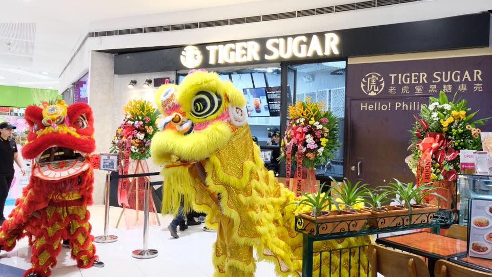 tiger sugar sm north edsa dancing dragons
