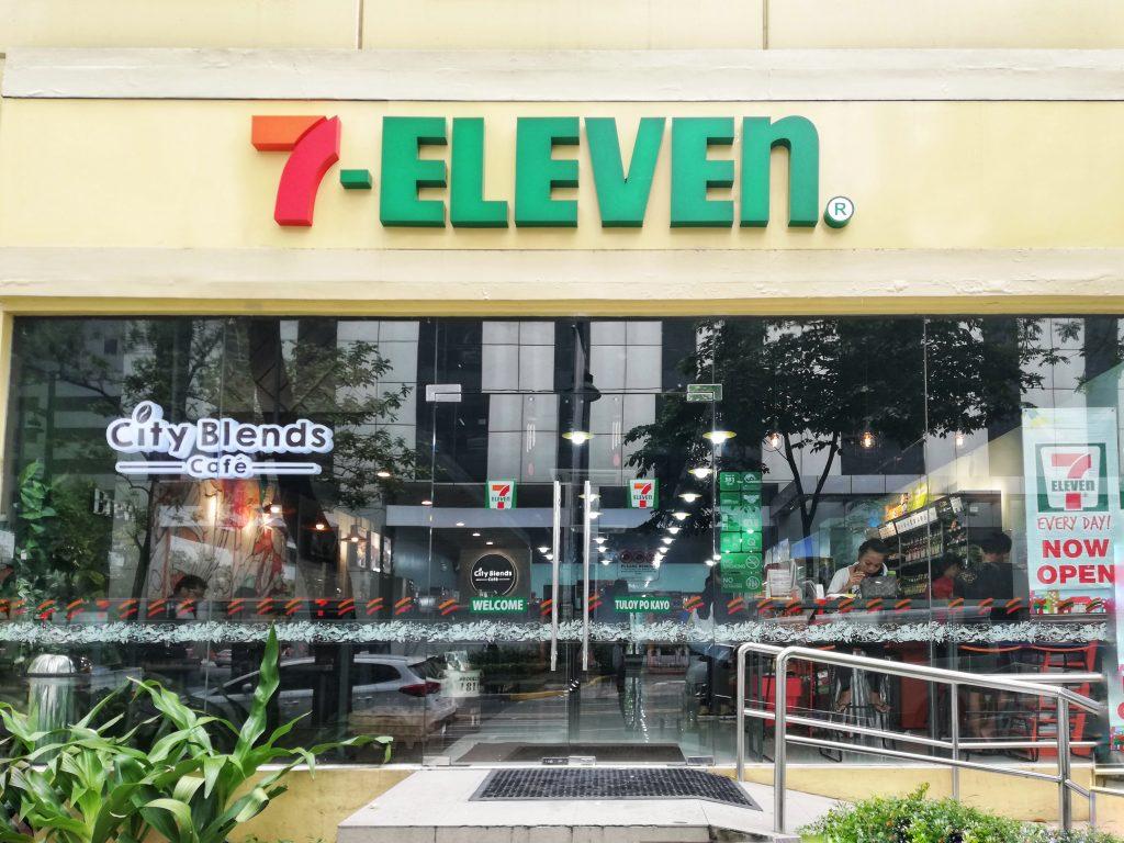 7eleven city blends cafe