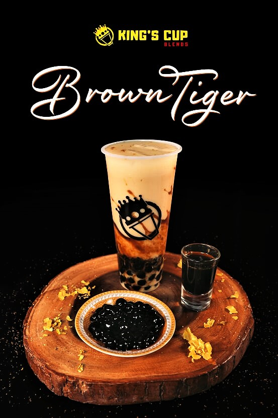 Kings Cup Blends Brown Tiger