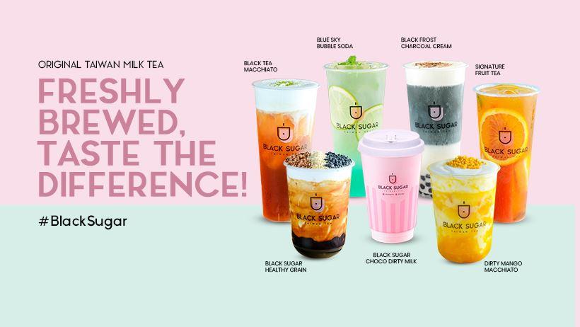 Black Sugar Taiwan Tea – Maginhawa Branch