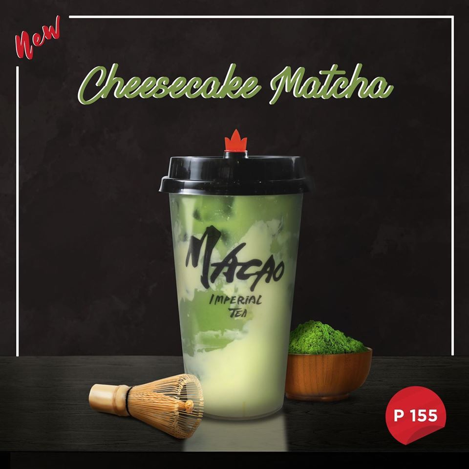 cheesecake matcha by macao imperial tea