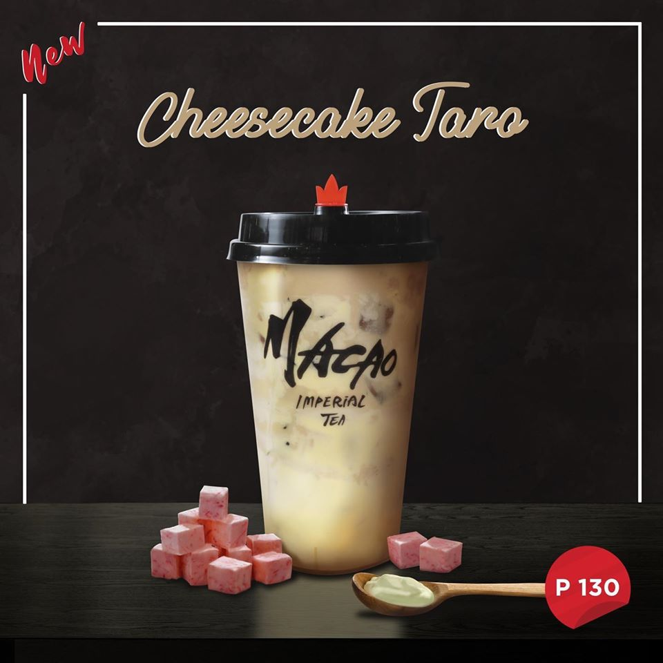cheesecake taro by macao imperial tea