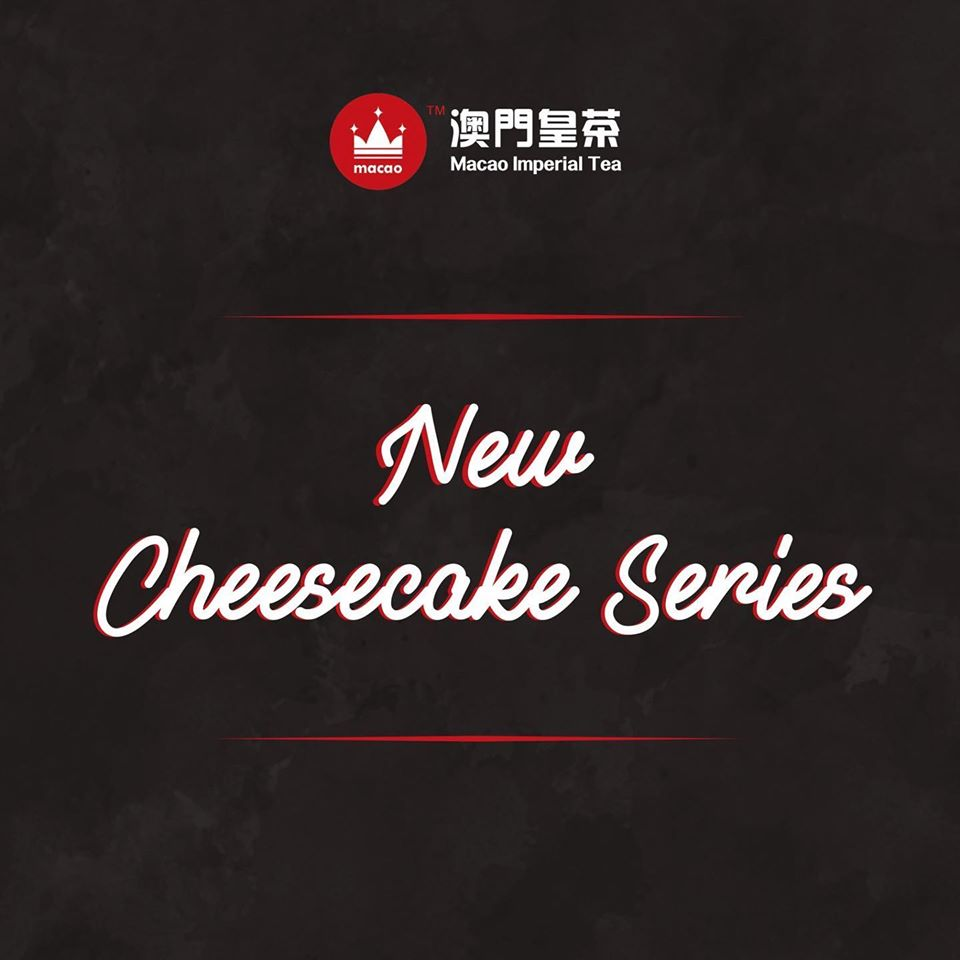macao imperial tea new cheesecake series