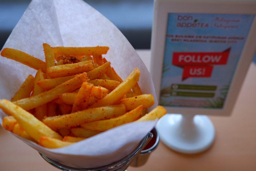 bonappetea milagrosa katipunan delicious fries