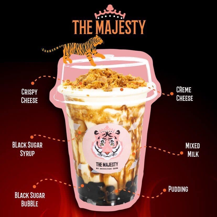 Fire Tiger The Majesty Milk Tea Best seller