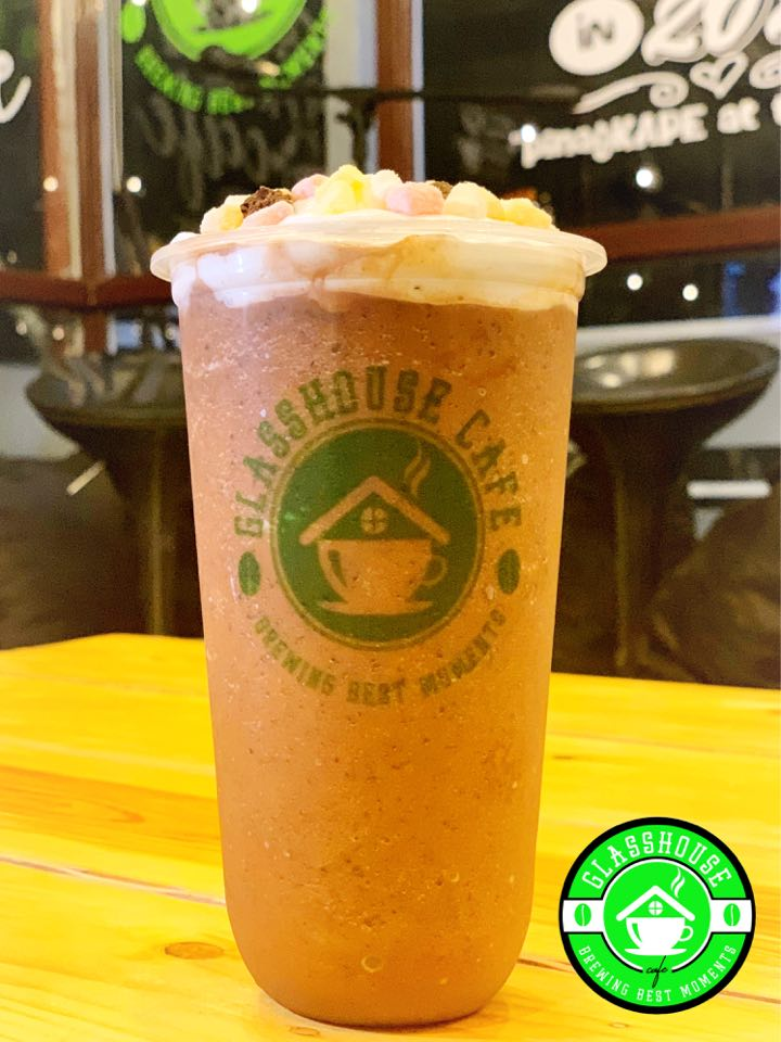 Glasshouse Cafe Chocolate Smores Frappe