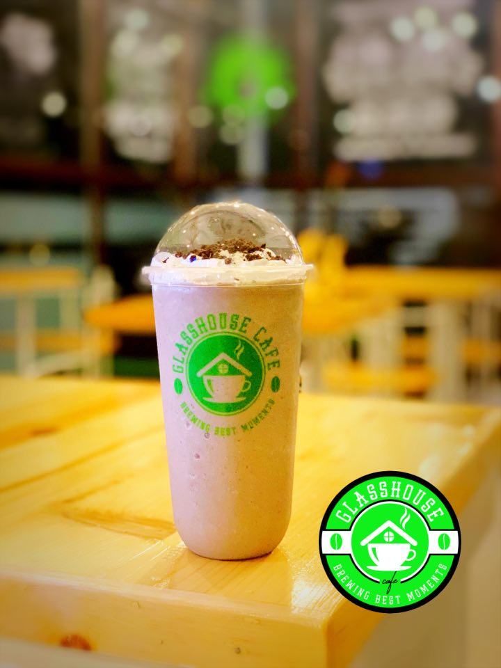 Glasshouse Cafe best seller Oreo Frappe