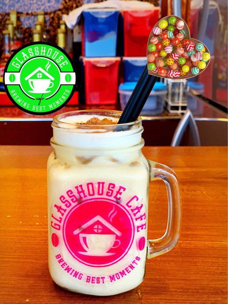 glasshouse cafe best seller Iced Cappuccino