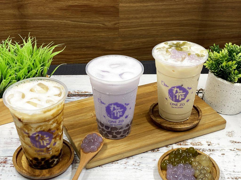 one zo tapioca best selling milk tea