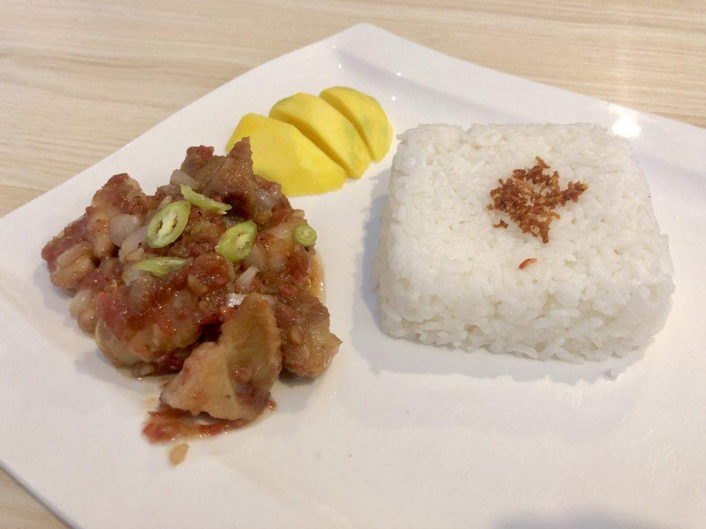Bloque 7 Cafe Best seller Pork Binagoongan