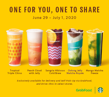 Buy One Get One at Starbucks on Teaology Drinks