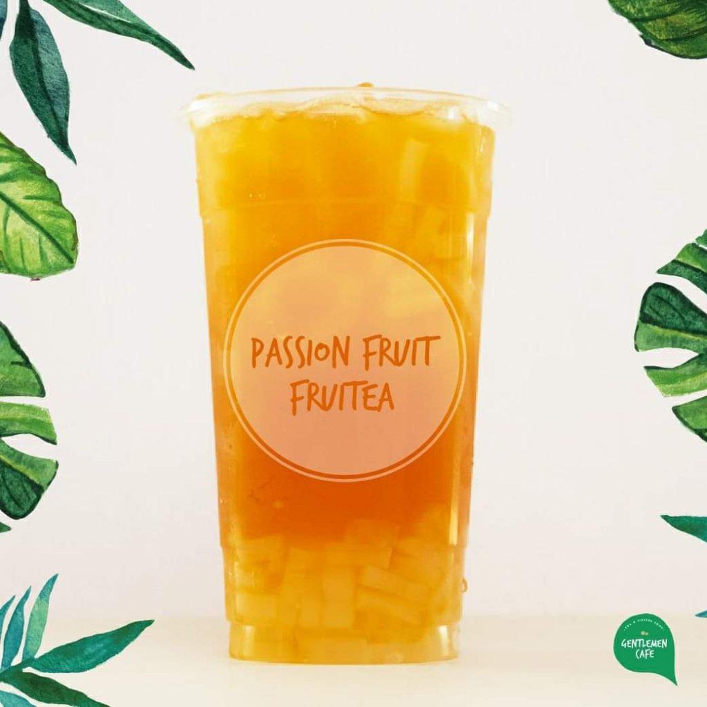 Gentleman Cafe Cebu Best seller Passion Fruit Tea