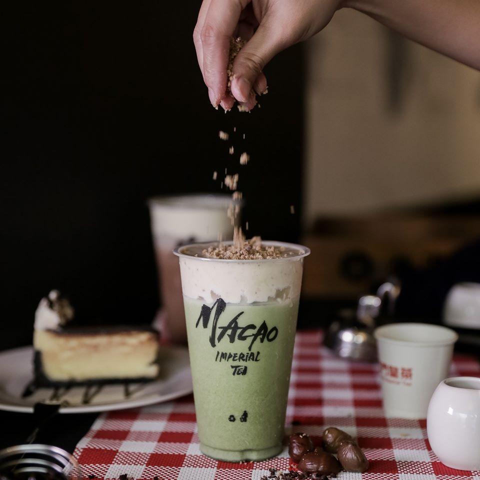 Macao Imperial Tea Chestnut Cream Uji Matcha