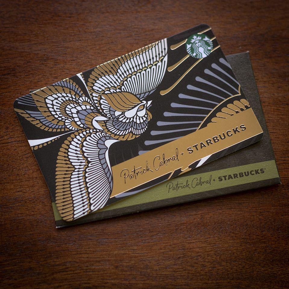 Starbucks Card x Patrick Cabral