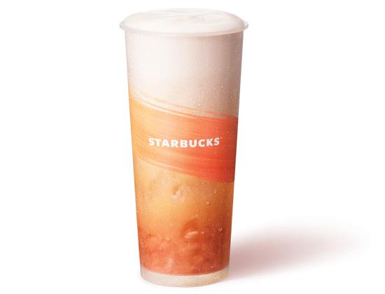 Starbucks Peach Cloud with Jelly