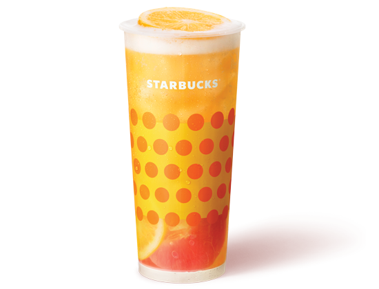 Starbucks Tropical Triple Citrus