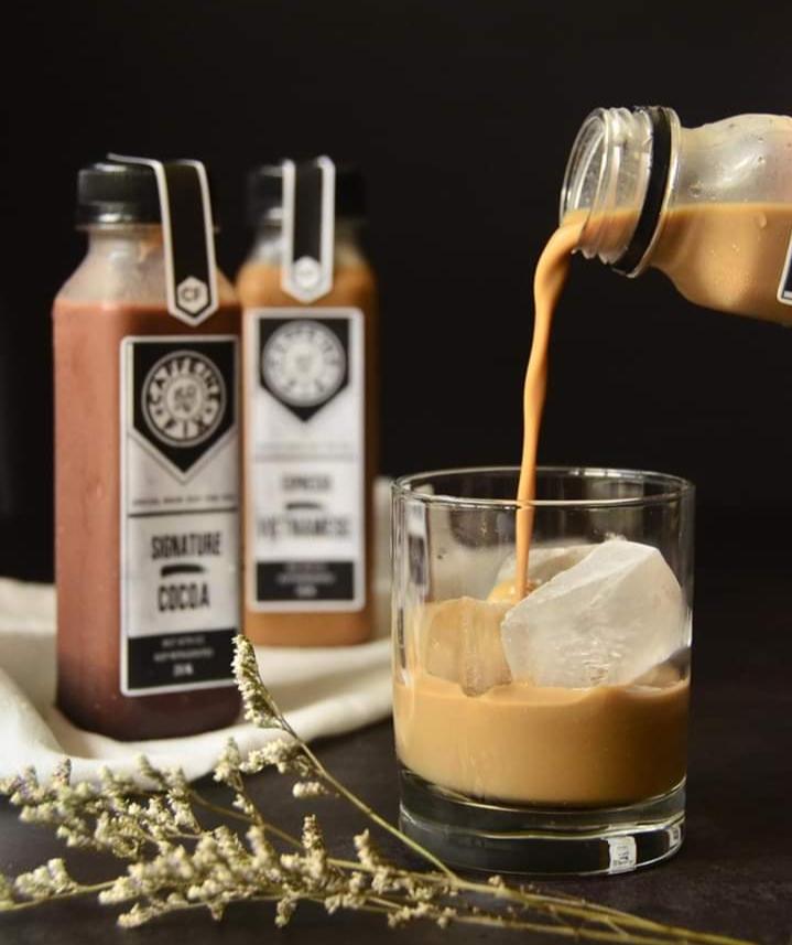 Caffeine Fix Cold Brew Coffee