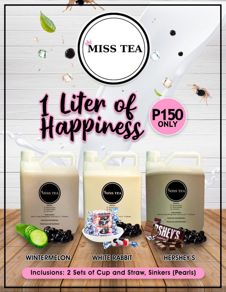 Miss Tea 1 Gallon Series