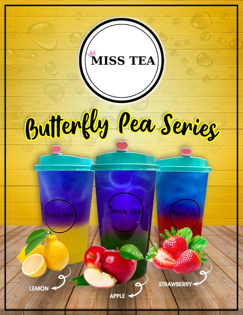 Miss Tea Butterfly Pea Series