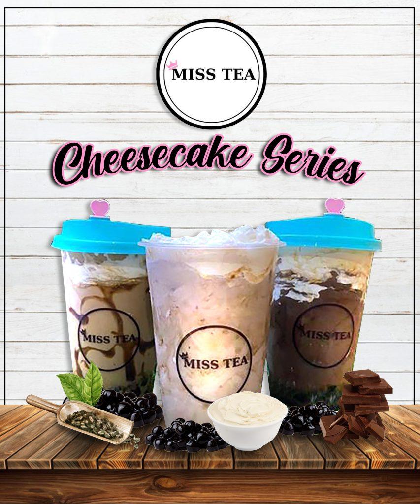 Miss Tea Cheesecake Series