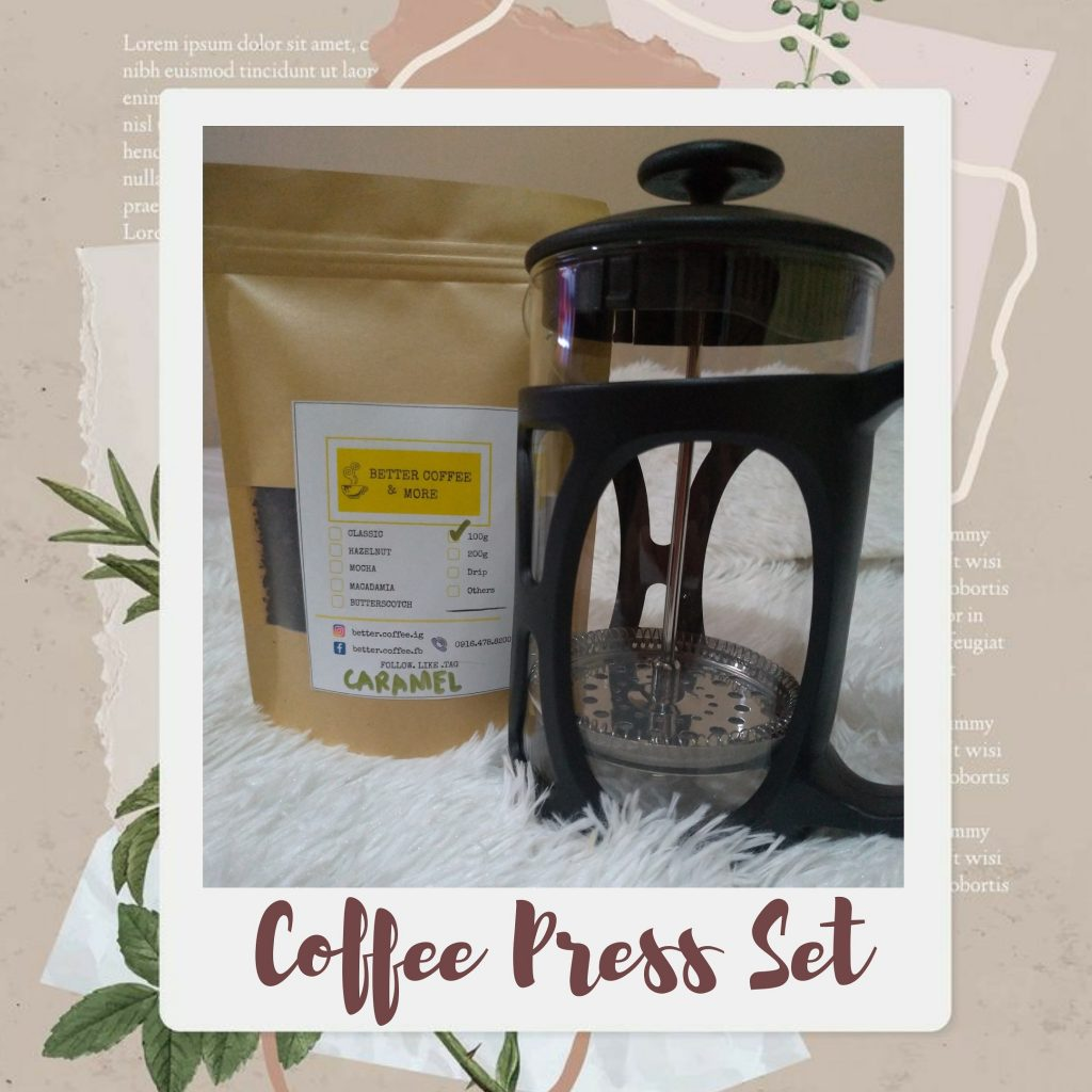 Better Coffee Press Set
