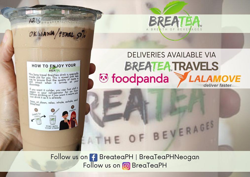 BreaTea Delivery Options
