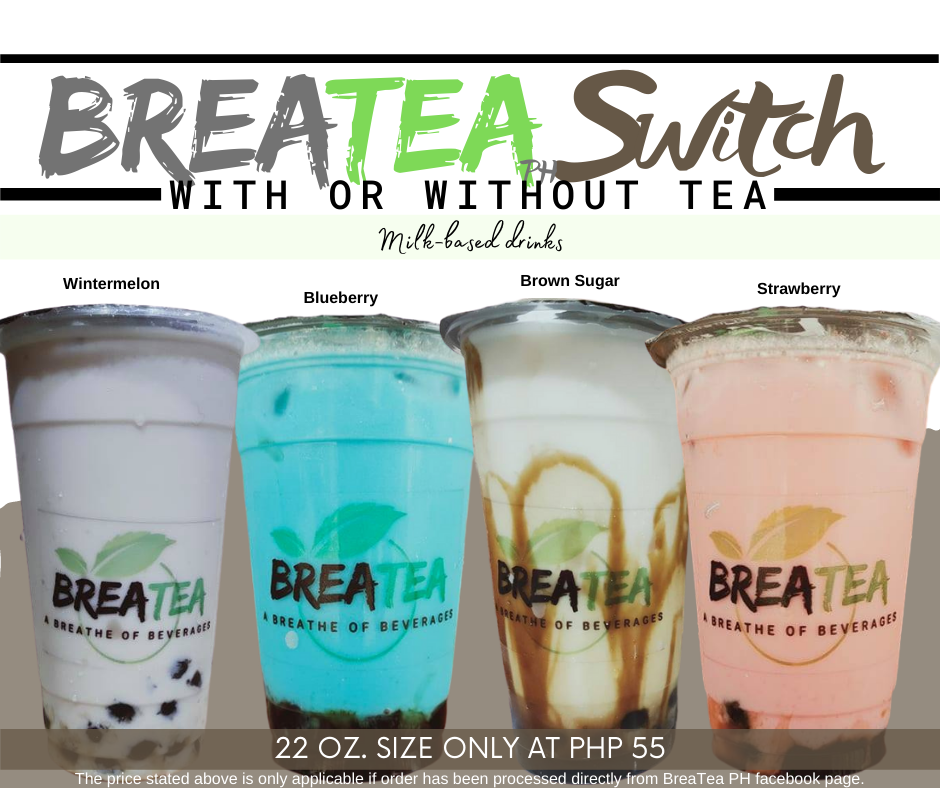 BreaTea Switch with or without tea