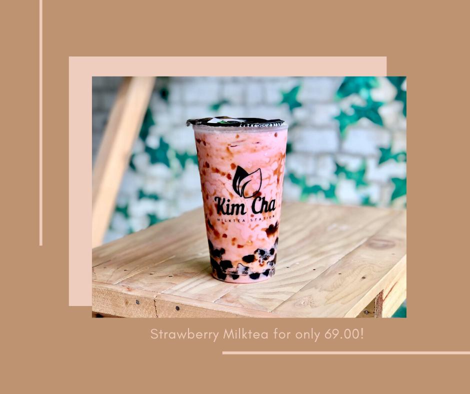 Kim Cha Milktea Station Strawberry