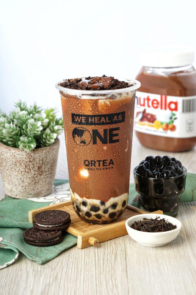 QRTEA Bubble Tea Chocolate Milk Tea