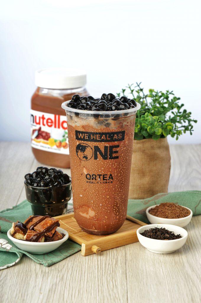 QRTEA Bubble Tea Nutella