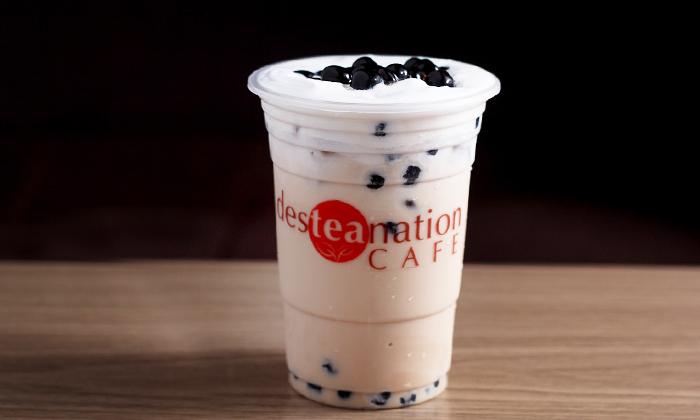 Desteanation Cafe Milk Tea