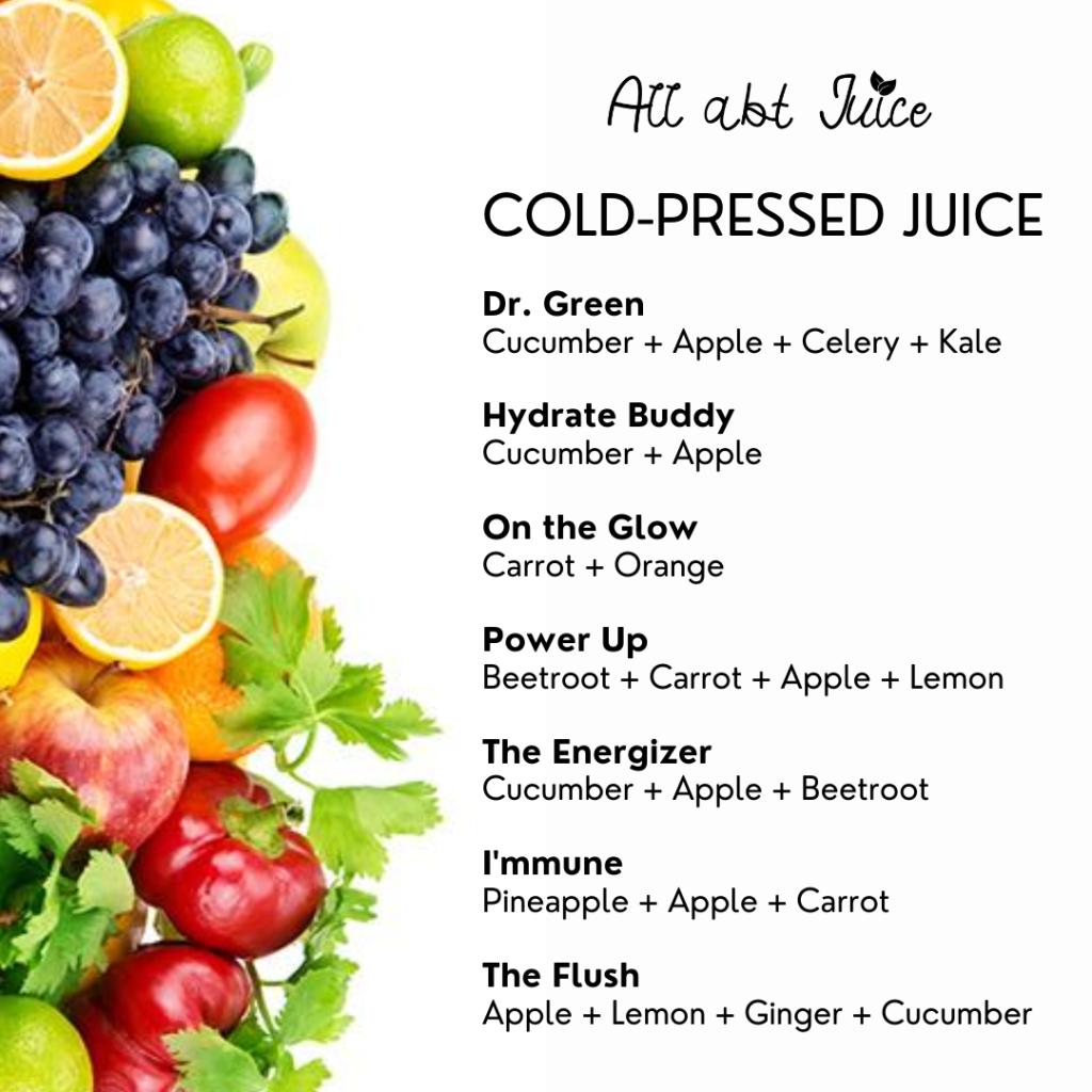 All Abt Juice Cold Pressed Juice