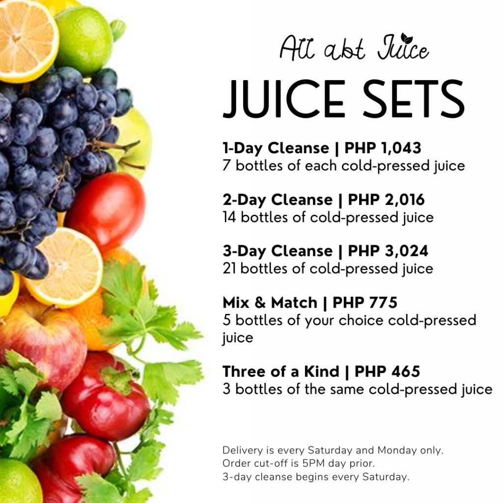 All Abt Juice Sets