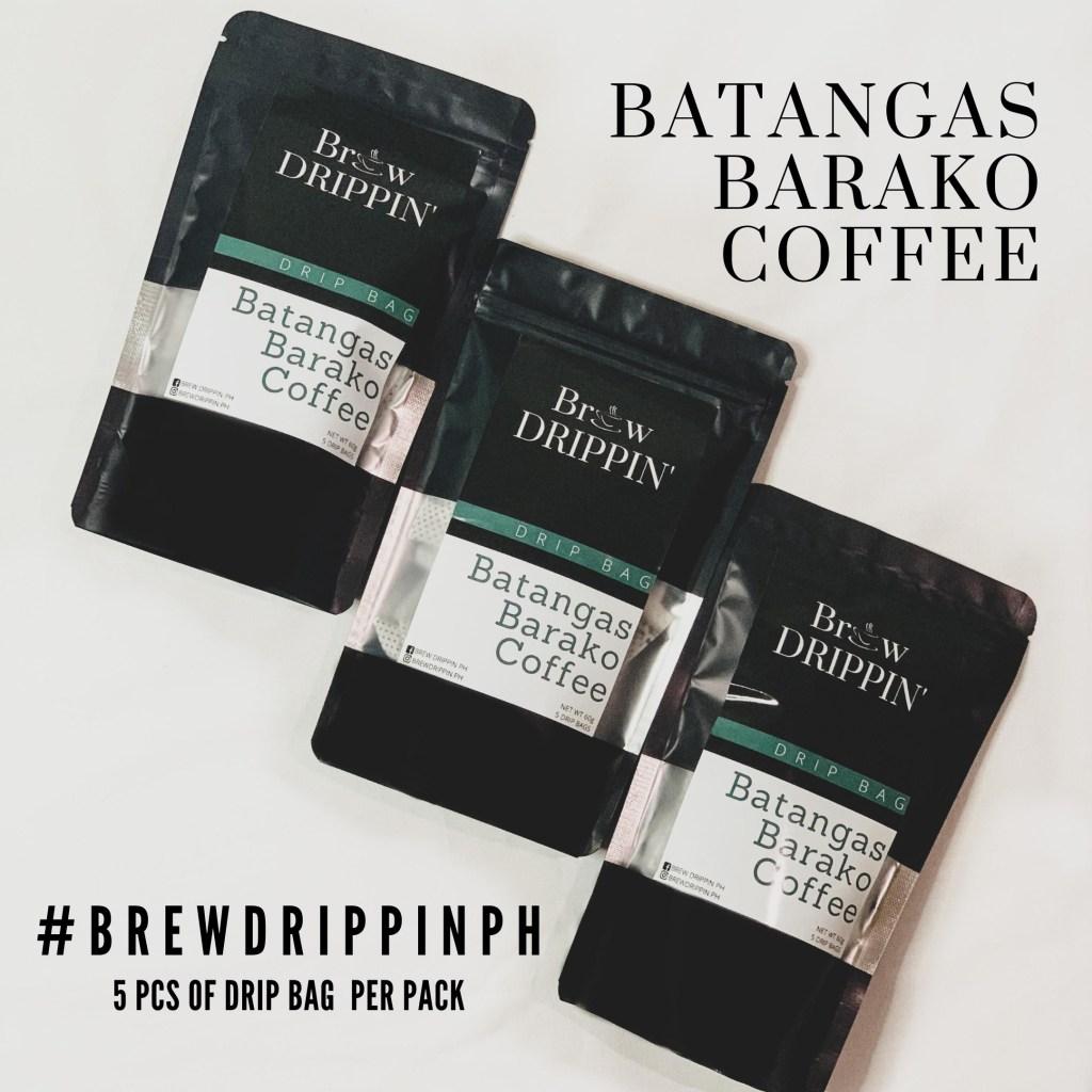 BREW DRIPPIN' Barako Drip Bags