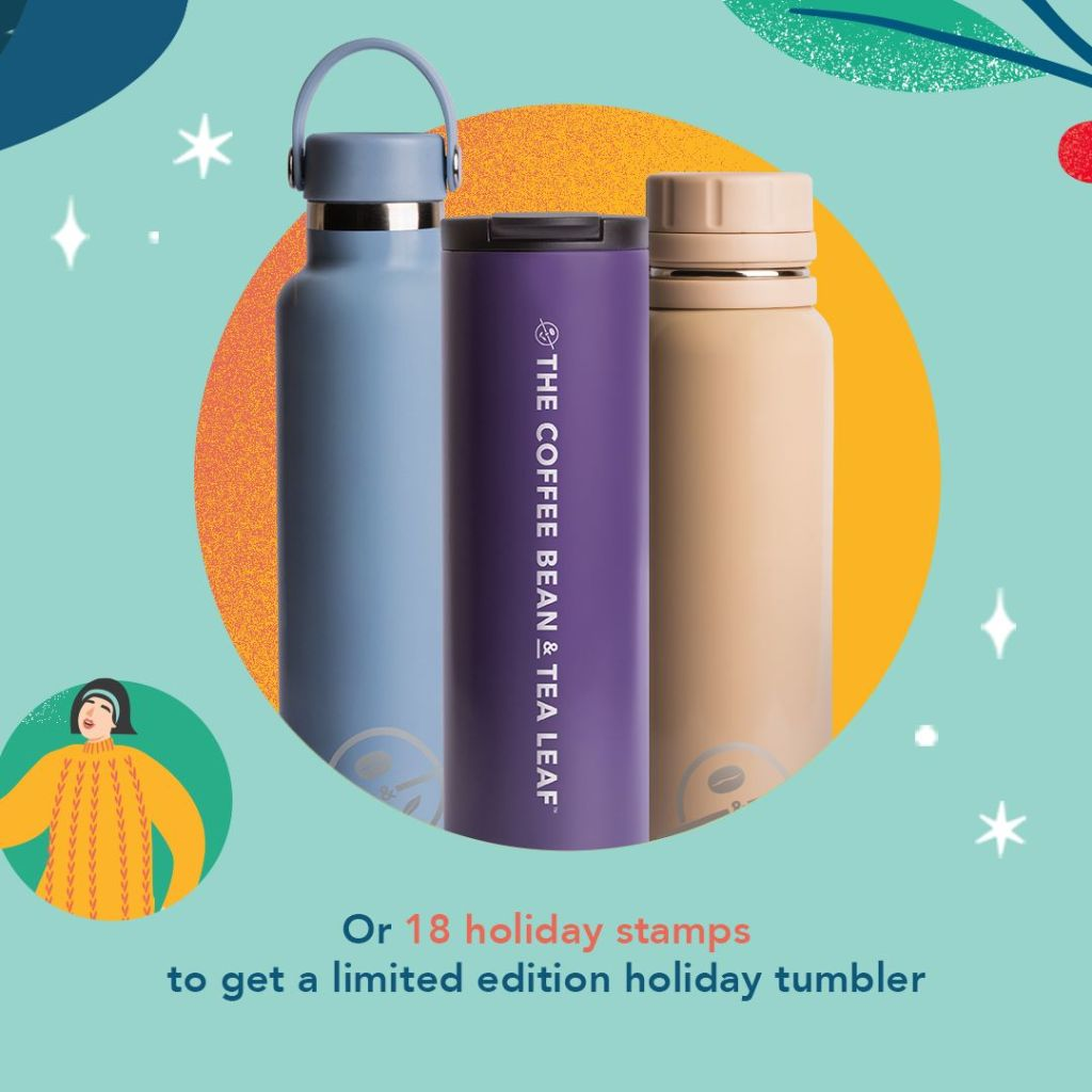 Coffee Bean & Tea Leaf Limited Edition Tumbler 2021