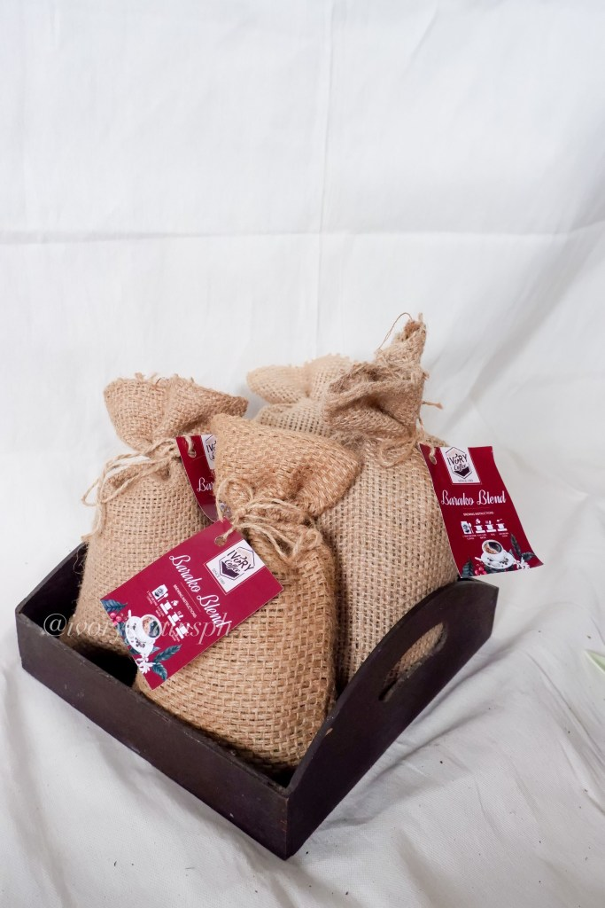 Ivory Grains Trading Coffee on Jutesack