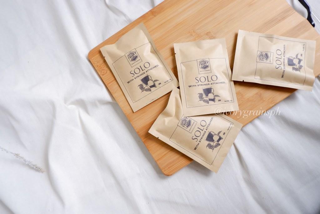 Ivory Grains Trading Solo Coffee Bag