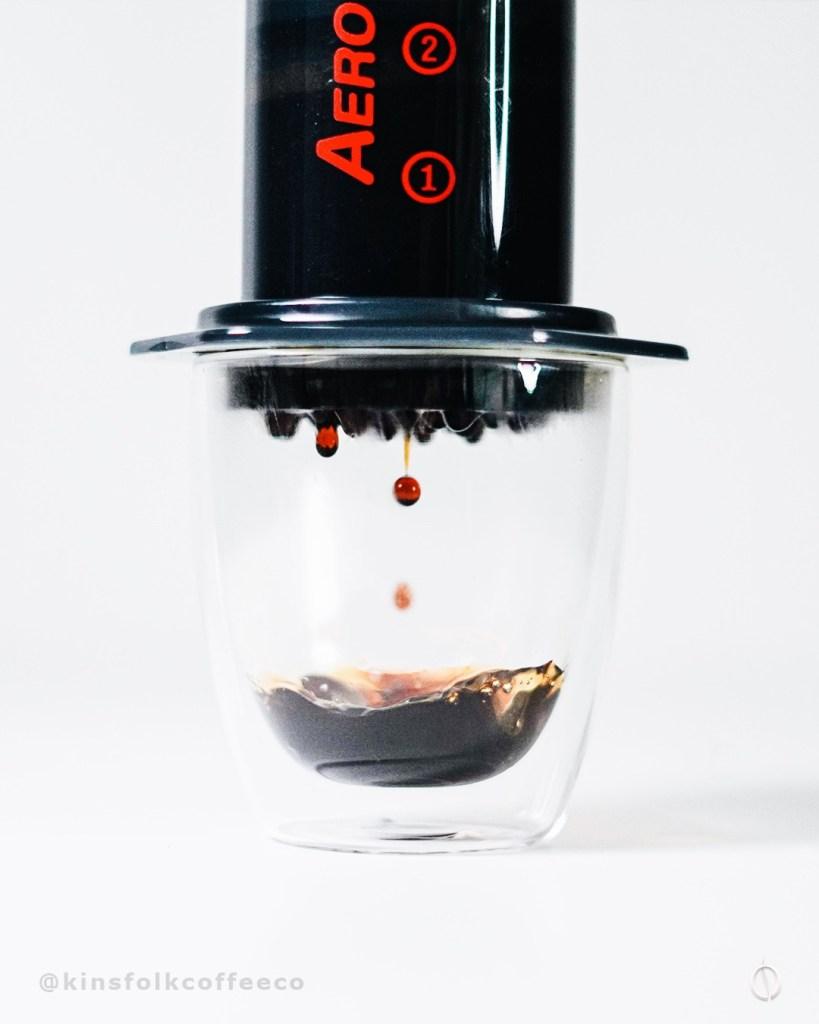 Kinsfolk Coffee Aeropress