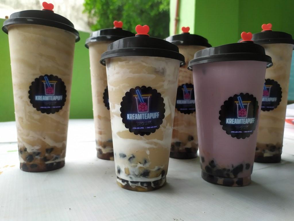 Kream TEA Puff Milktea House Best sellers