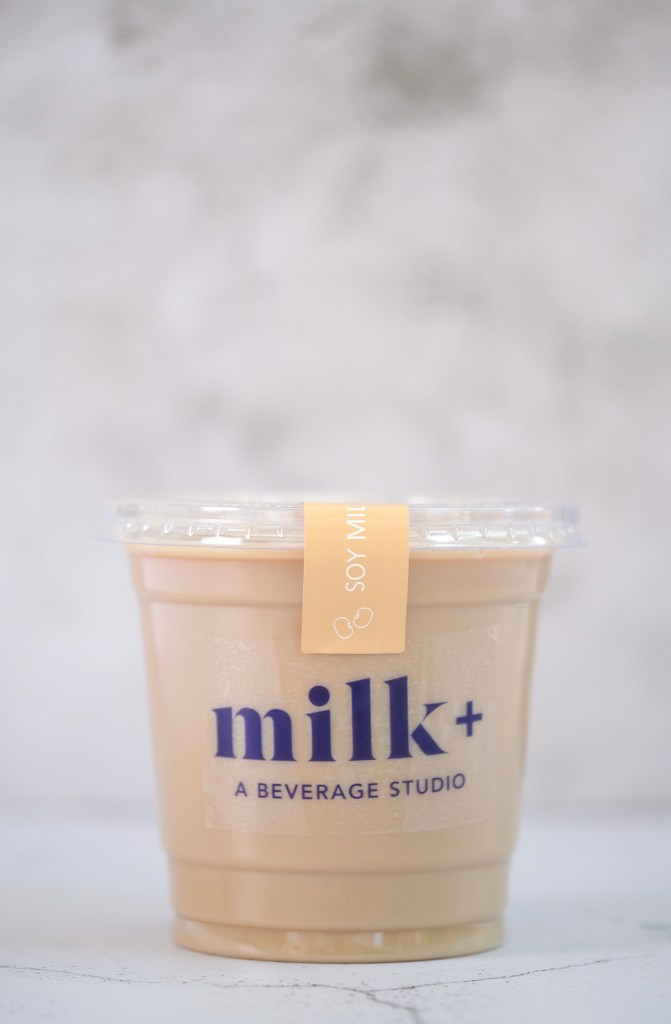 Milk Plus Studio Soy Latte