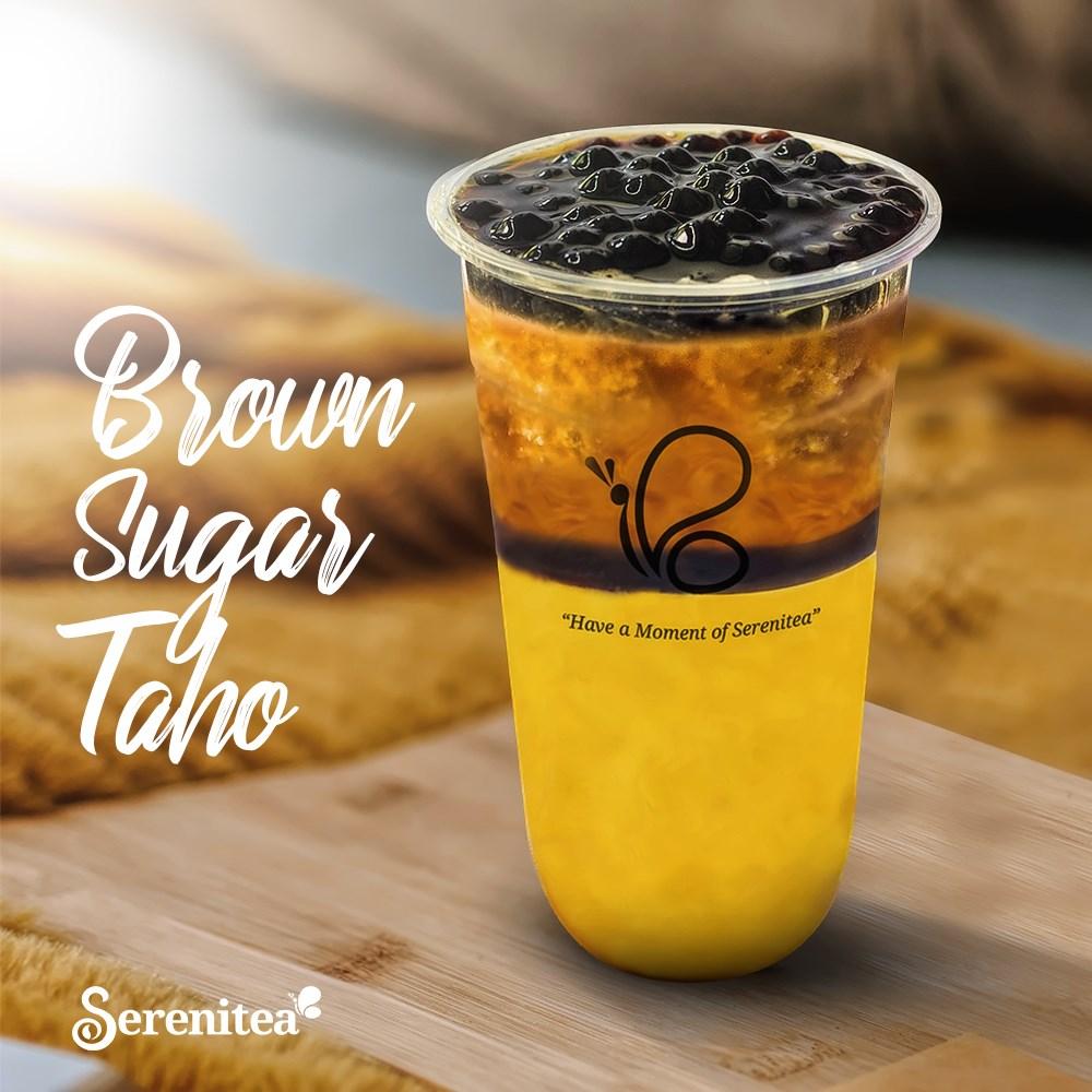 Serenitea Brown Sugar Taho