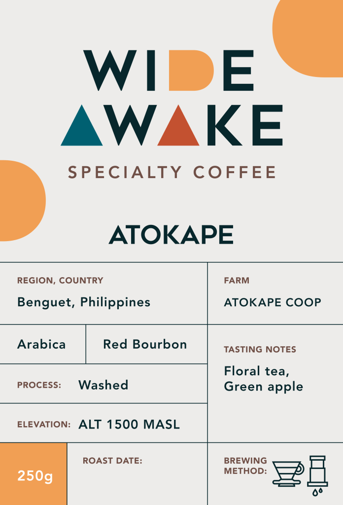 Wide Awake PH Menu Atok Kape